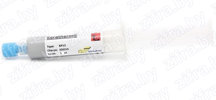 Термопаста KERATHERM KP-12 (Germany) 1ml, 10 Вт/м*К