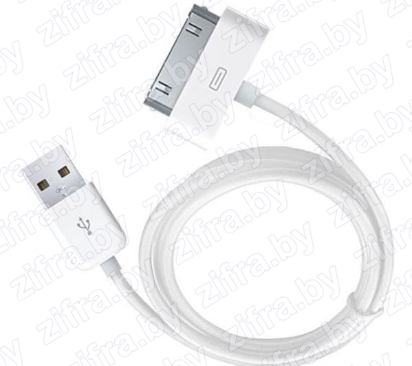 Дата-кабель USB iPhone 2G 3G 3Gs 4G 4S iPad2 iPad3